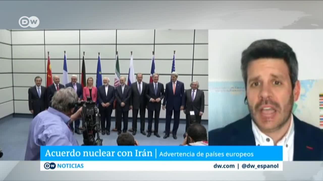 París, Berlín y Londres abren la puerta a salir del acuerdo nuclear