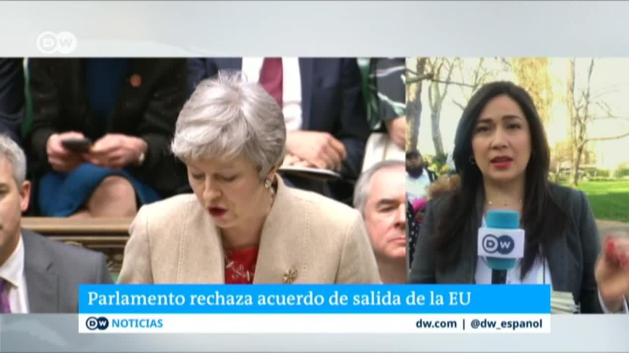 Parlamento británico rechaza acuerdo de salida de la UE
