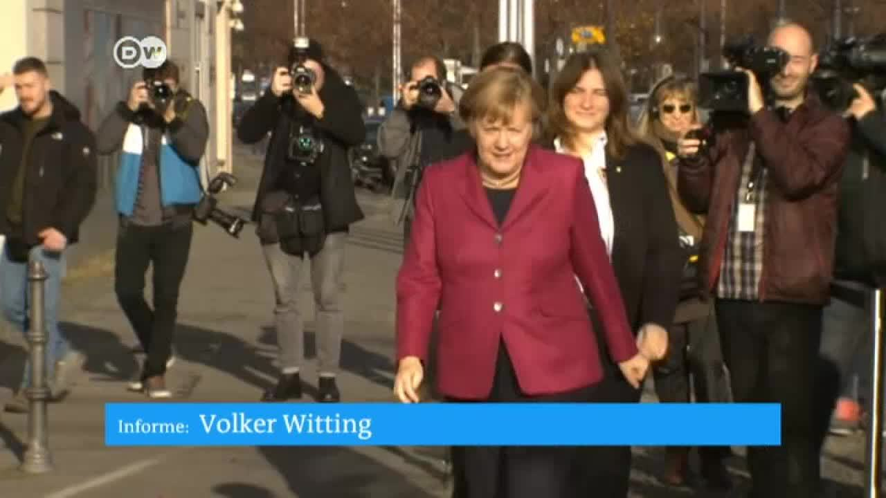 Partidos alemanes buscan acuerdos