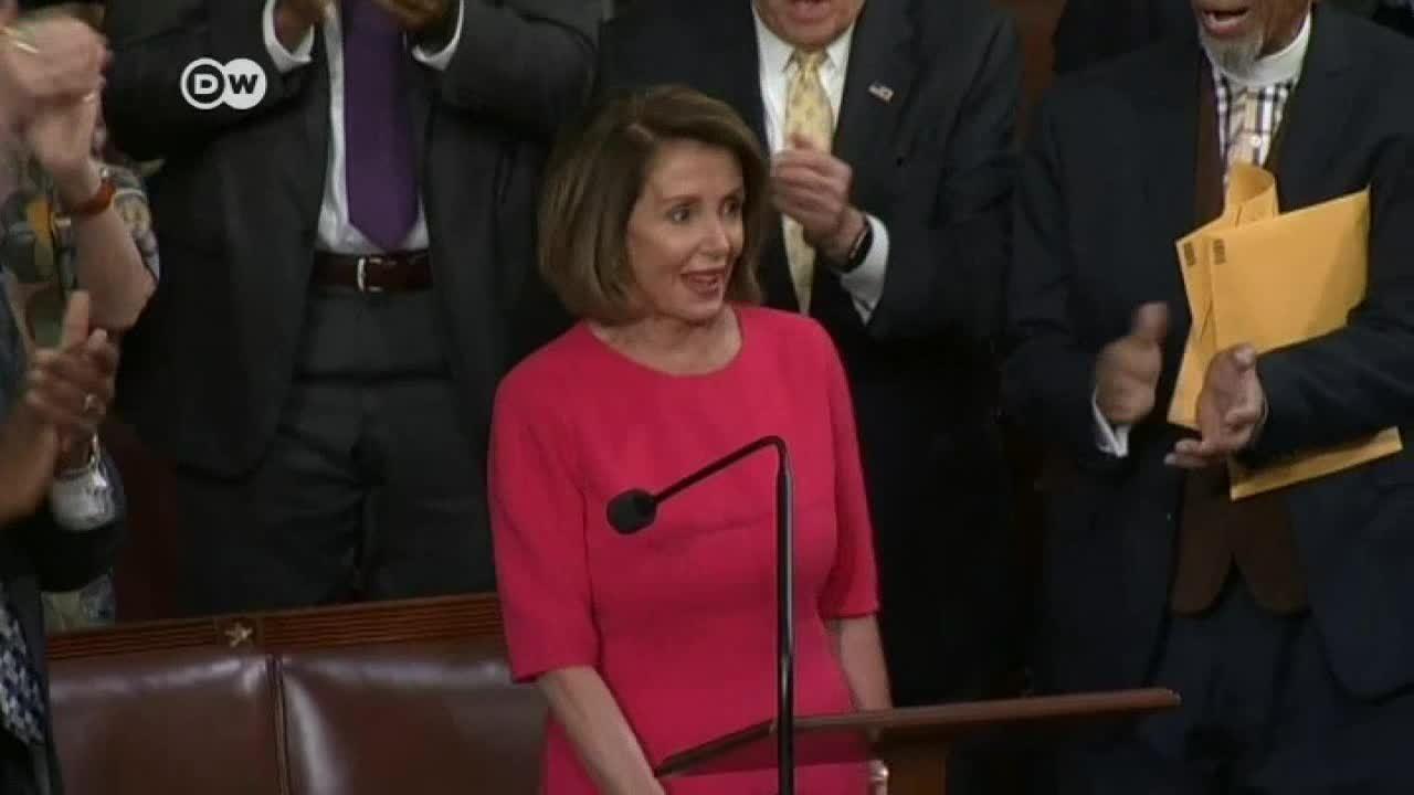 Pelosi, una líder demócrata para el Congreso