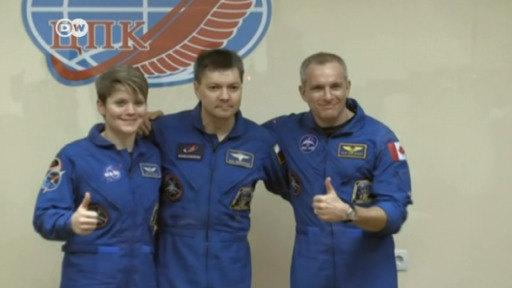 Preparan relevo de tripulación en la Estación Espacial Internacional