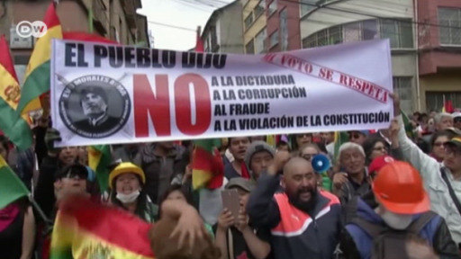 Protestas en Bolivia ante aplazamiento de elecciones