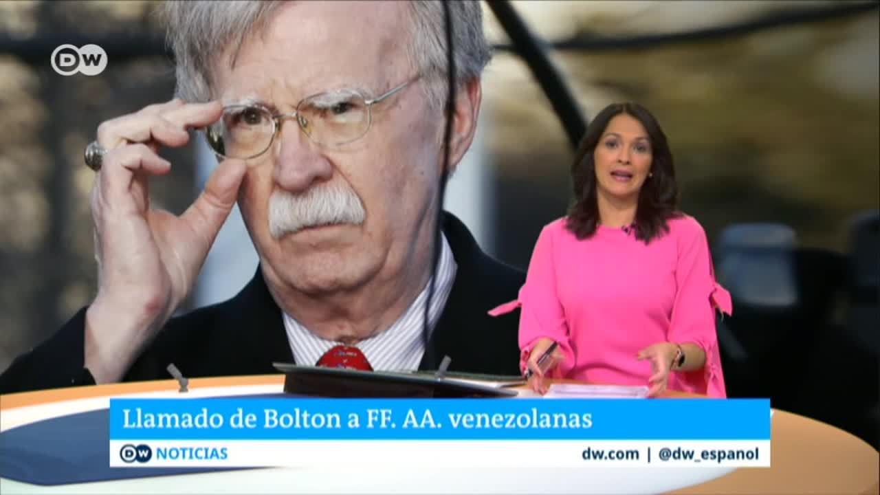 Reacción de EE.UU. ante la situación en Venezuela