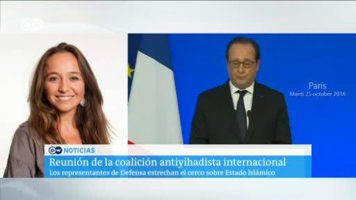 Reunión de la coalición antiyihadista internacional