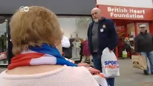 Romford enarbola la bandera del Brexit
