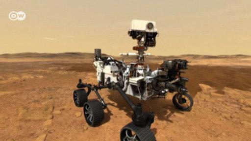 Rover Perseverance a la conquista de Marte