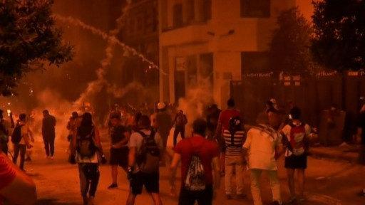Segunda noche de enfrentamientos en Beirut