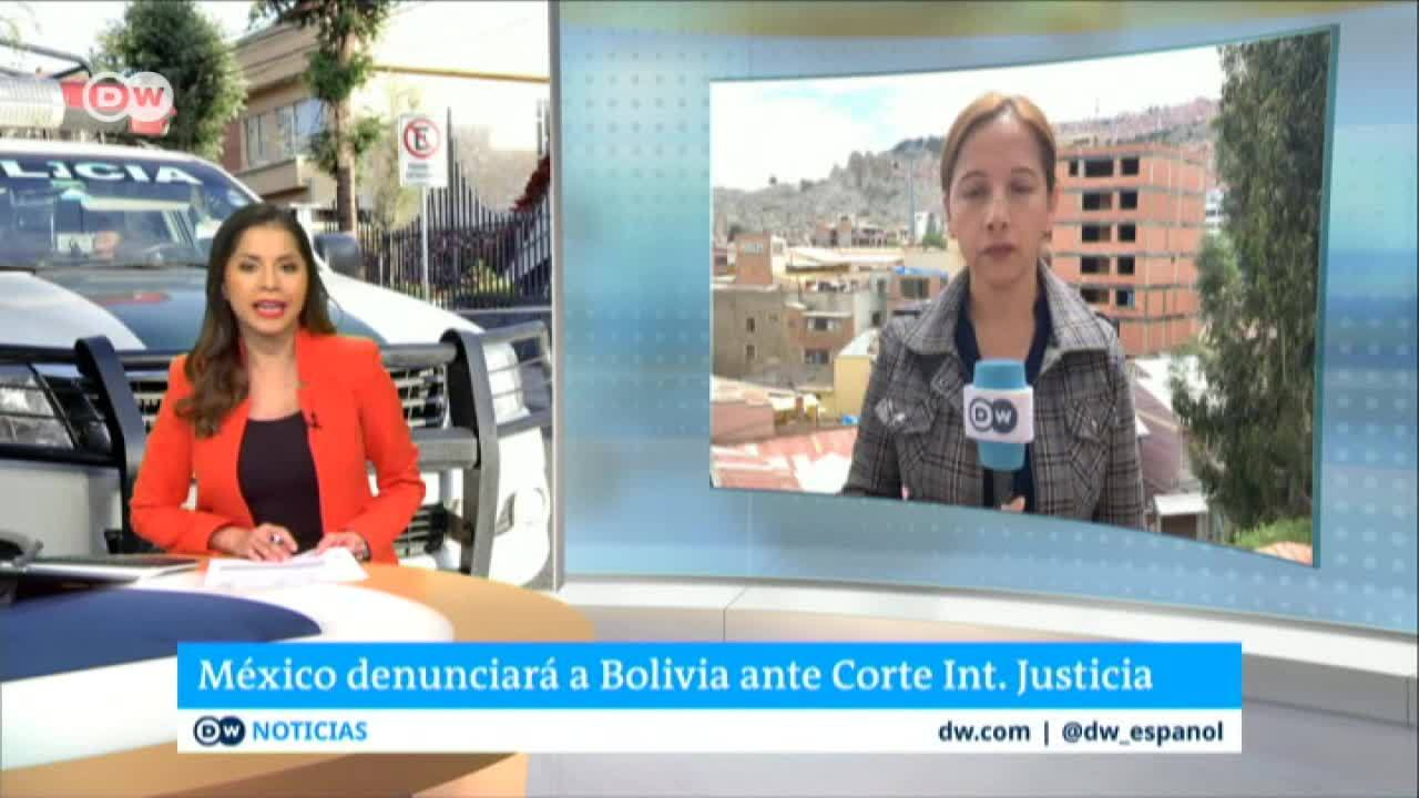 Tensión diplomática entre Bolivia y México