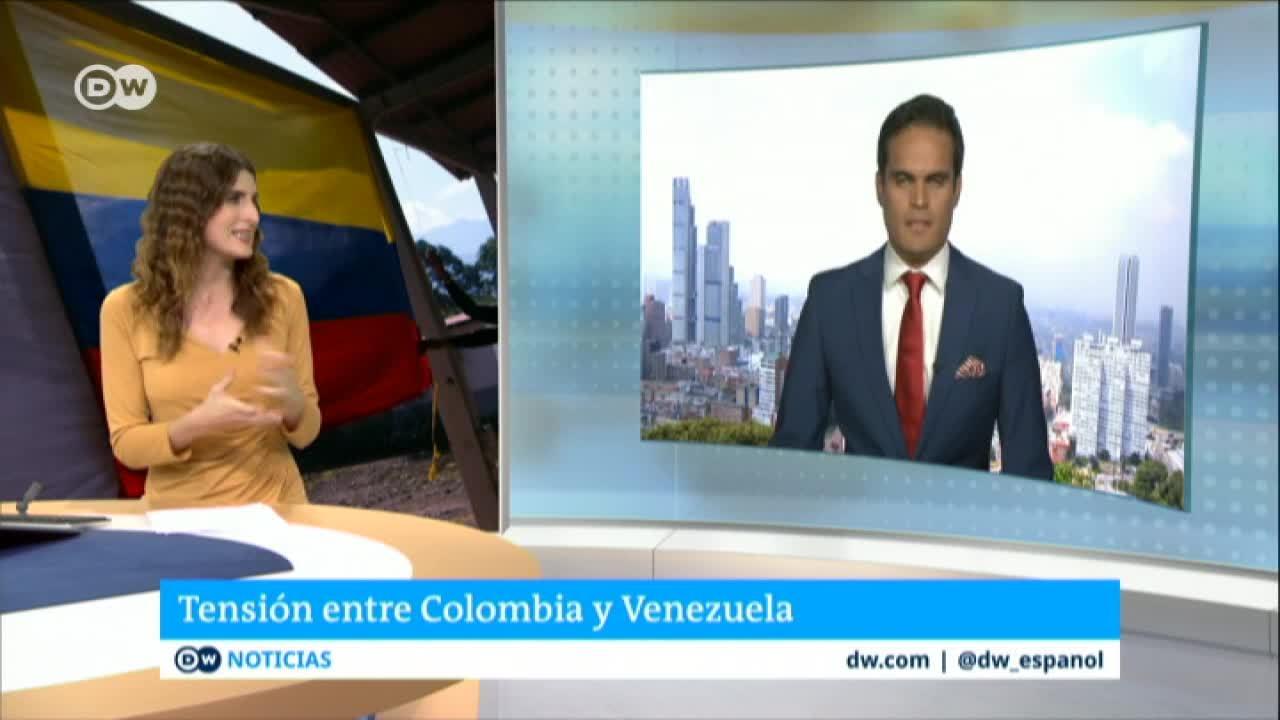 Tensión entre Colombia y Venezuela