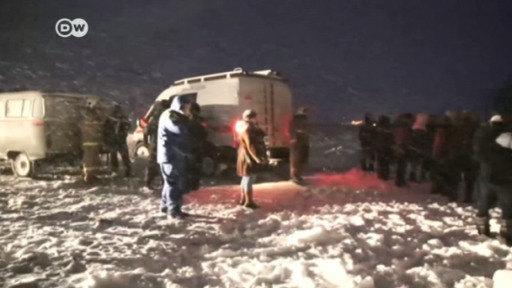 Trágico accidente aéreo en Rusia