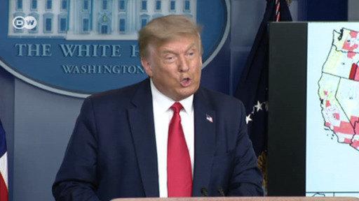 Trump suspende la Convención Republicana en Florida