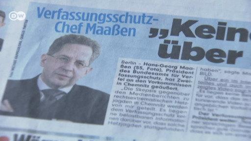 Verfassungsschutzpräsident Maassen in der Kritik