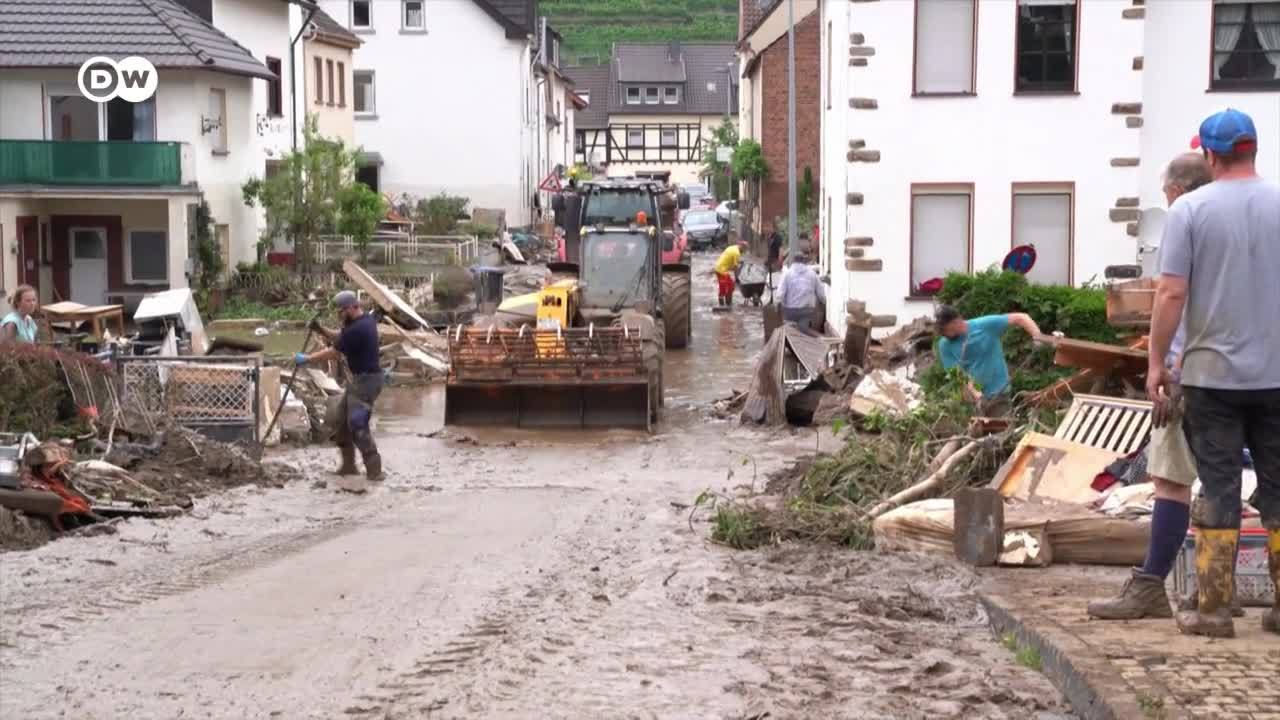 Alemania: consecuencias de las inundaciones