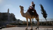 Navidades en Tierra Santa - El Papá Noel de Jerusalén