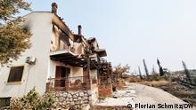 Grecia: la catástrofe del fuego
