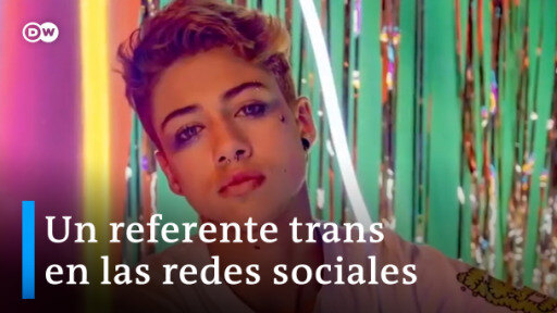 Tatán Malagueño, influencer trans en Chile