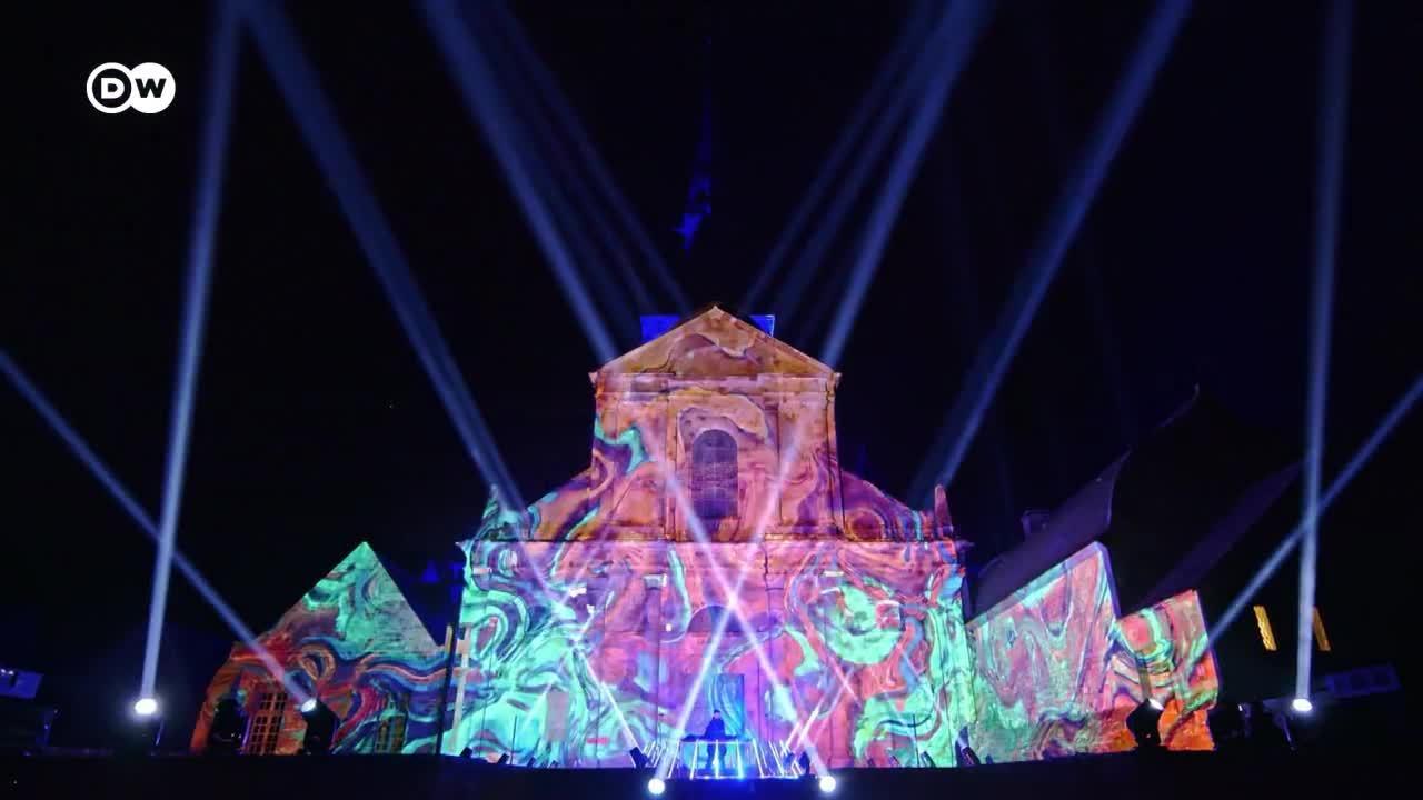 Espectáculo de luz y música en el Monte Saint-Michel