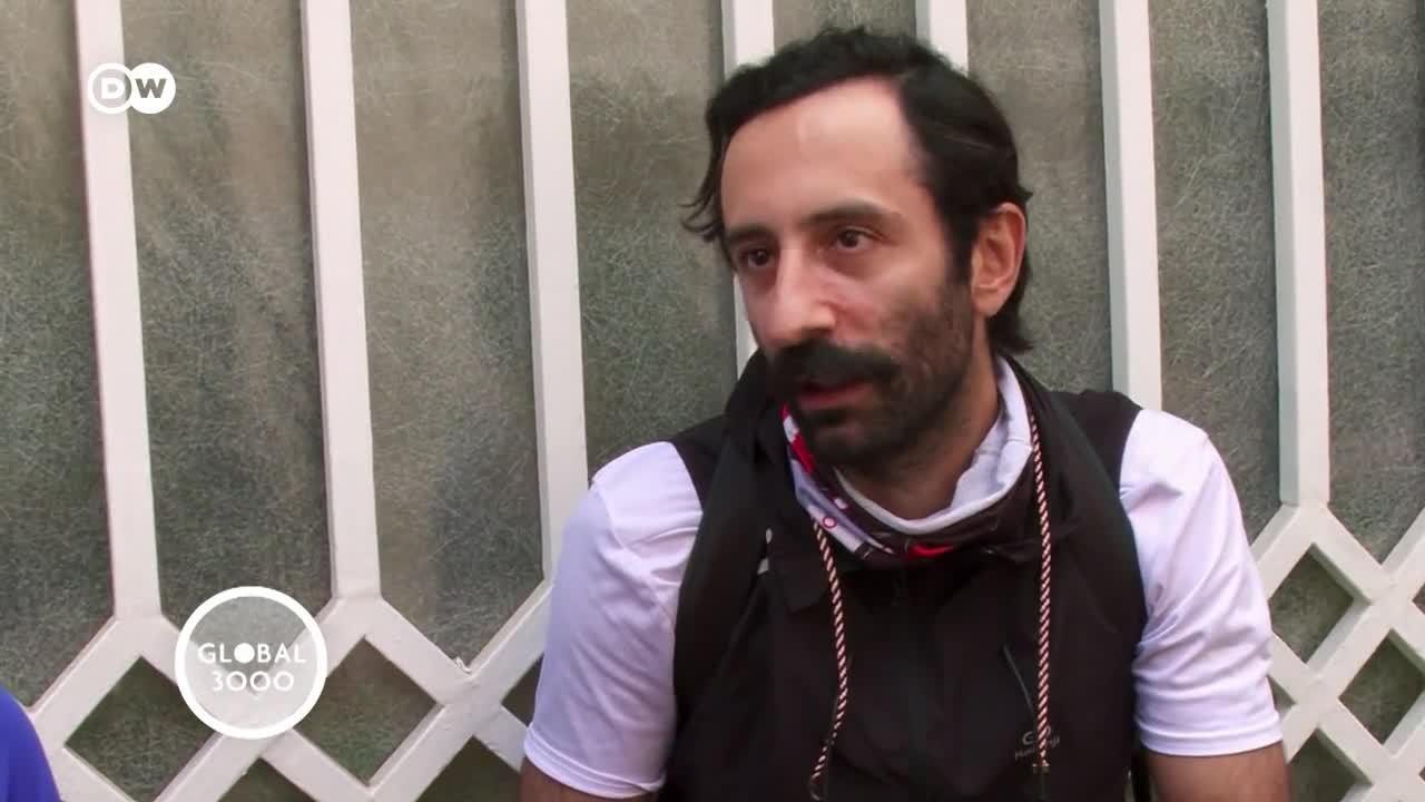 Irán: ciclistas por un mejor medioambiente