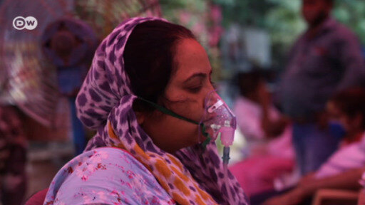 India: escasez de oxígeno