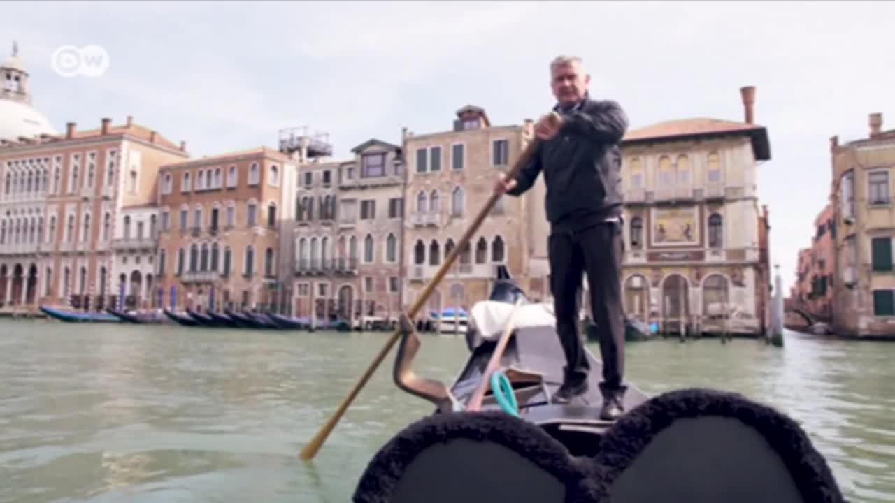 Italia: descenso del turismo en Venecia