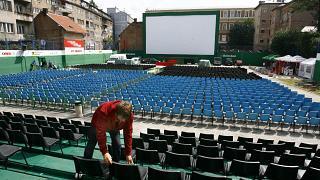 Imagen de archivo del Festival Internacional de Cine de Sarajevo