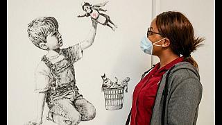 Banksy, cada vez más cotizado, vuelve a batir su propio récord con