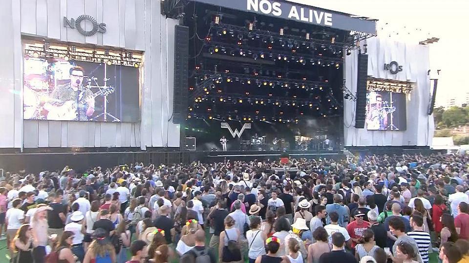 The Cure, Grace Jones y Vetusta Morla se suben al escenario del Nos Alive