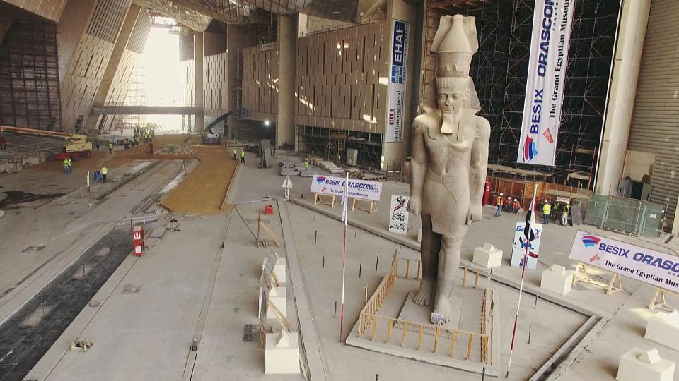 Un proyecto japonés para conservar los tesoros de Egipto