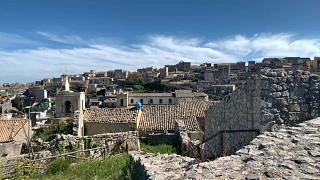 Vista de Palazzolo Acreide, en Sicilia