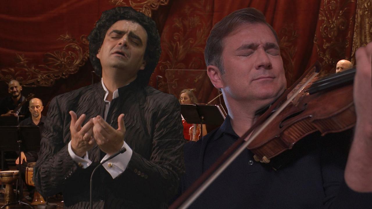 eterna: Rolando Villazón y Renaud Capuçon cautivan en el Teatro de la Ópera de París