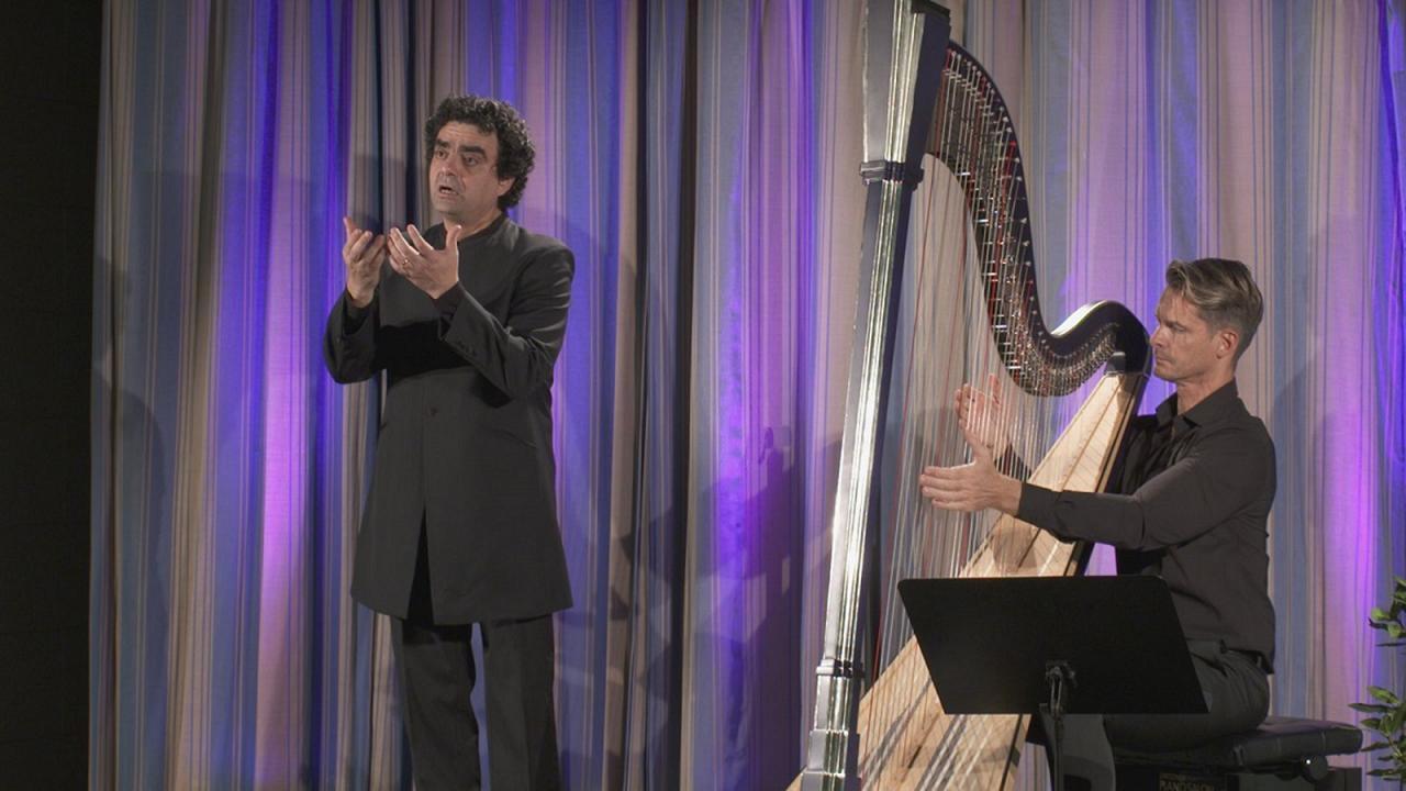 Rolando Villazón y Xavier de Maistre: tenor y arpa para Serenata Latina
