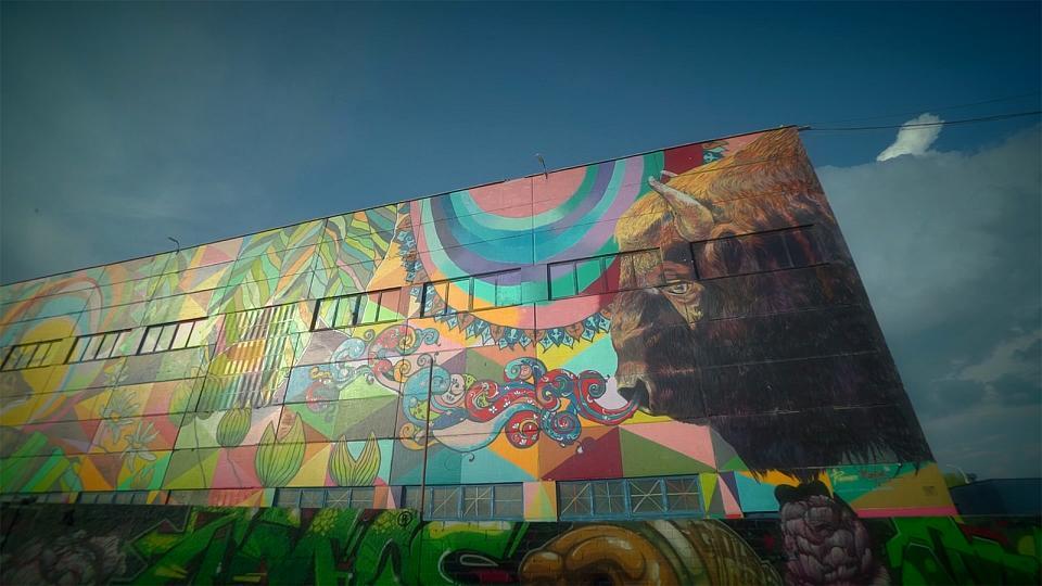 Arte callejero en Minsk