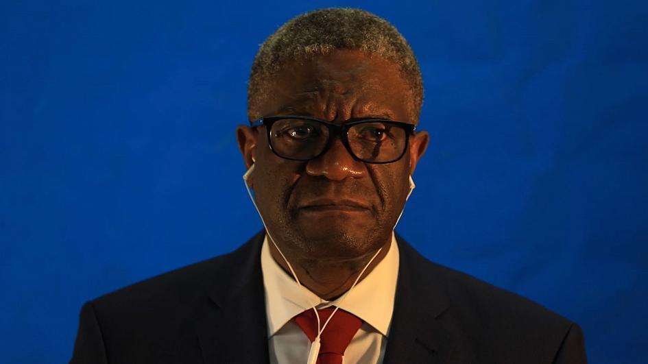 Denis Mukwege, premio Nobel de la Paz: