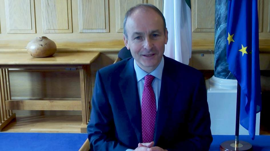 Micheál Martin, primer ministro de Irlanda: La ley de mercados del Reino Unido erosionó la confianza