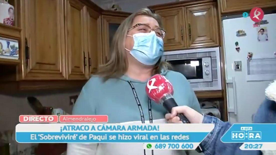 ¿Aún no has escuchado a Paqui cantar a lo Mónica Naranjo? Ha nacido una estrella
