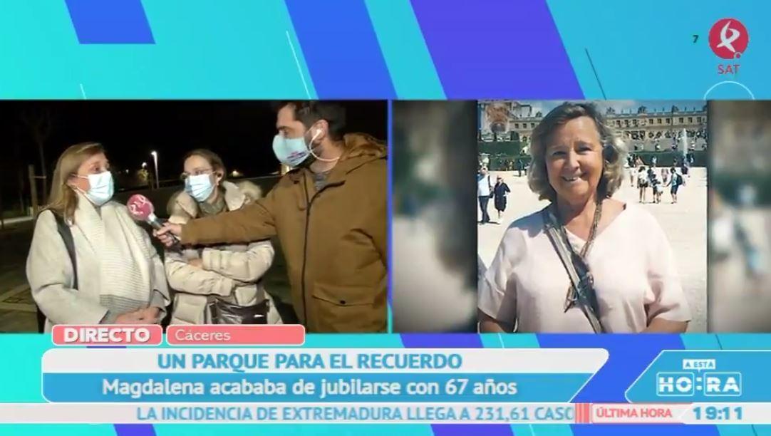 Cáceres quiere rendir homenaje a Magdalena González, fallecida por covid