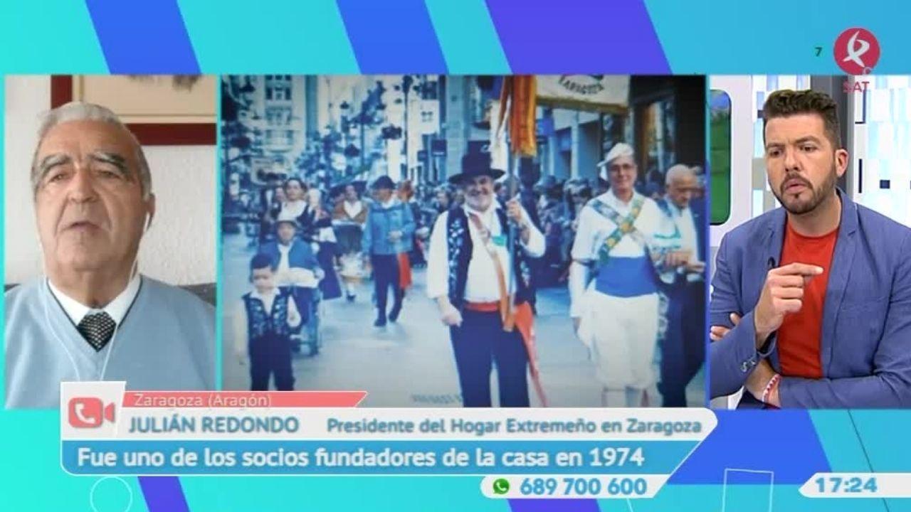 Cerca de 200 extremeños forman la gran familia del Hogar del Extremeño en Zaragoza