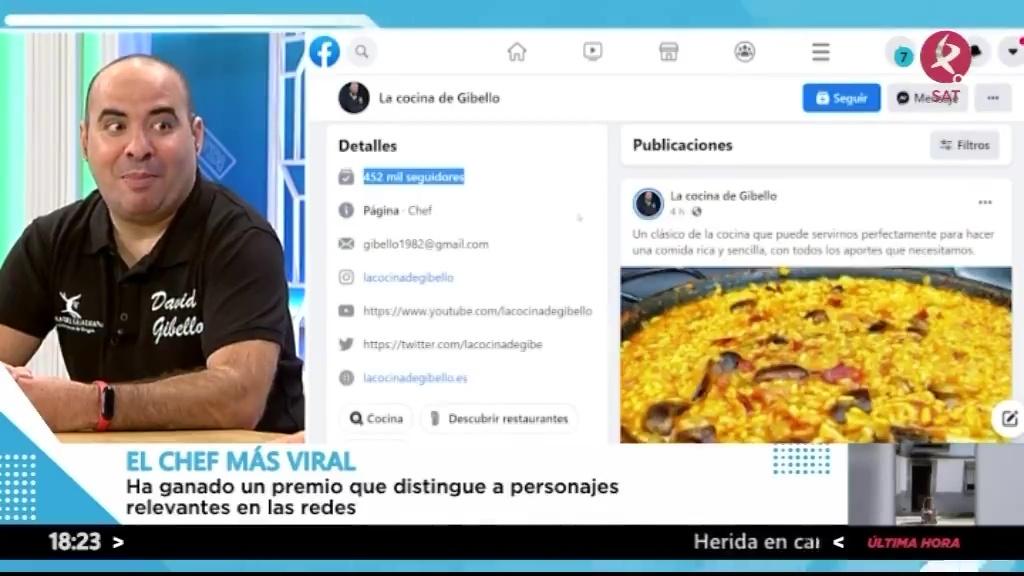 El Chef extremeño más viral de las redes sociales
