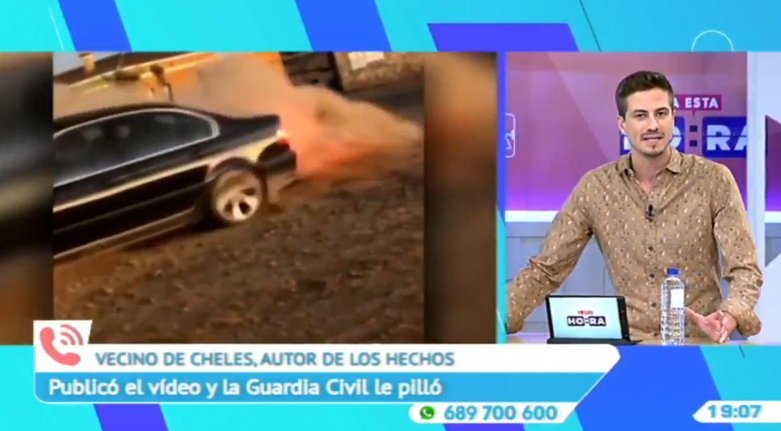 El conductor de Cheles pide disculpas