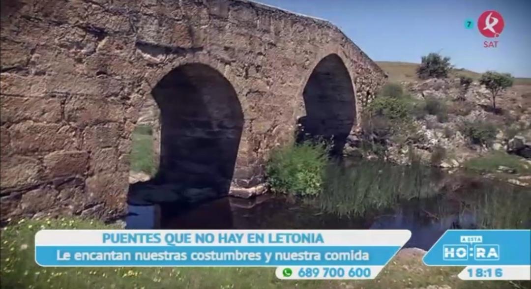 El puente romano de La Cumbre