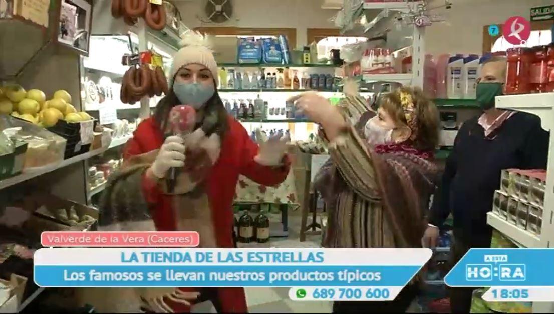 La tienda de Valverde de la Vera por la que pasan todos los famosos