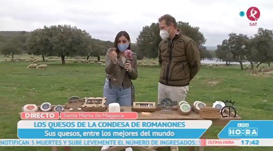 Los quesos de la condesa de Romanones, de los mejores del mundo