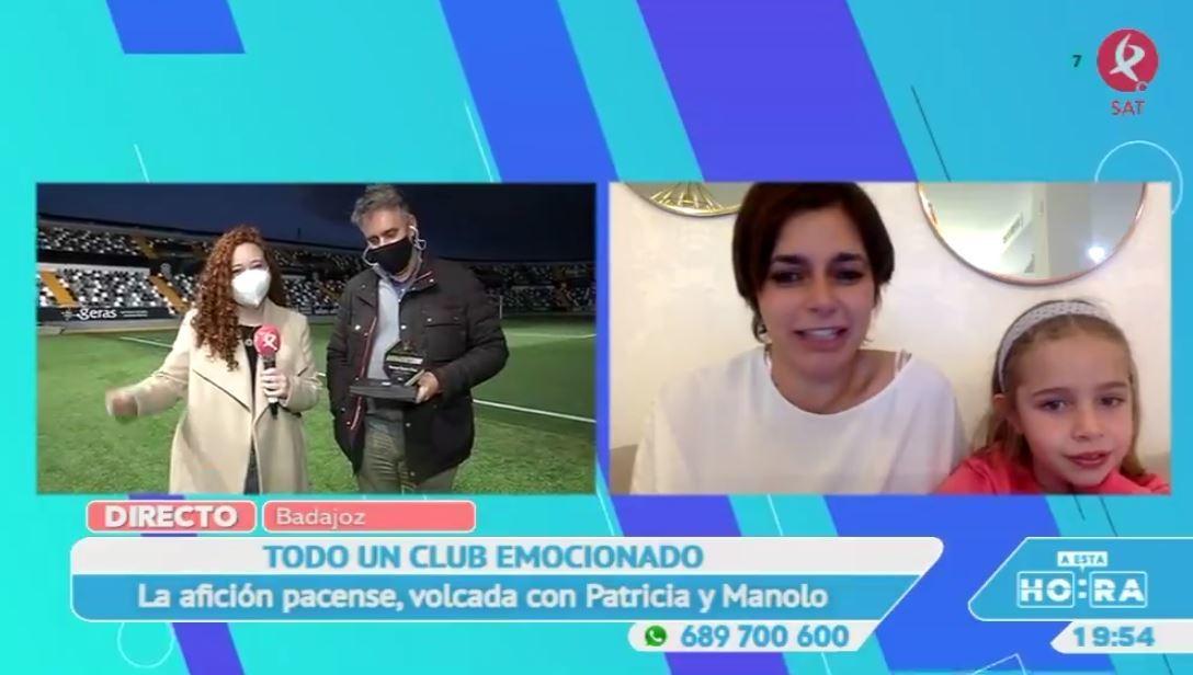 Manolo estará siempre unido a su amado Club Deportivo Badajoz