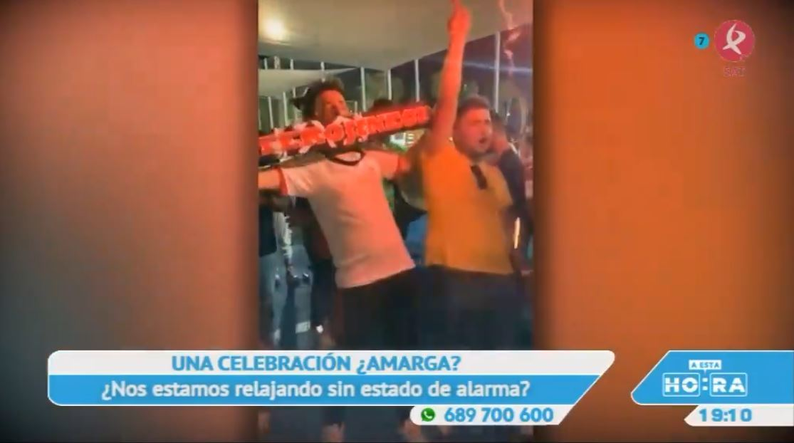 Polémica por la celebración de la afición tras el ascenso de la UD Montijo