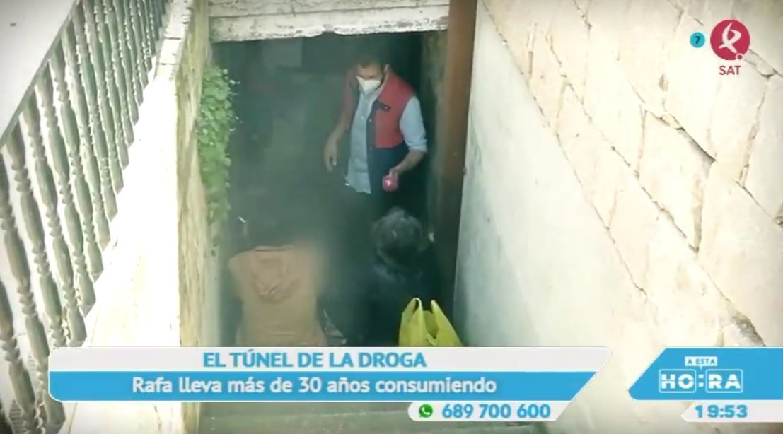 Un rincón inundado de droga que ahoga a una calle en Plasencia