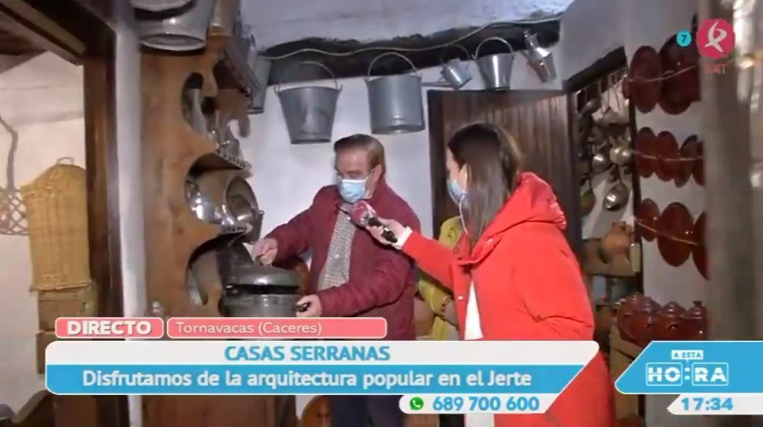 Una casa que es un verdadero museo en Tornavacas
