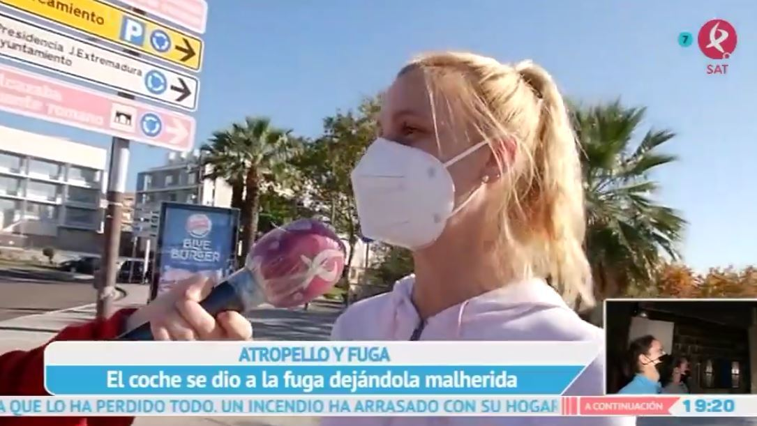 Una niña fue atropellada y abandonada en Mérida
