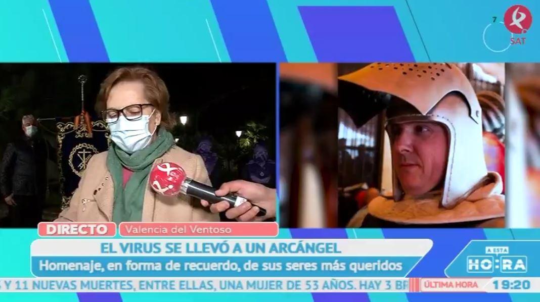 Valencia del Ventoso despide a Arcángel