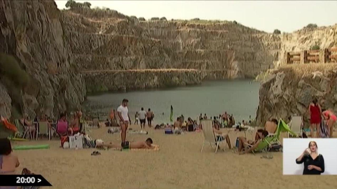 Vetusta Morla elige la cantera de Alcántara como escenario de su último videoclip