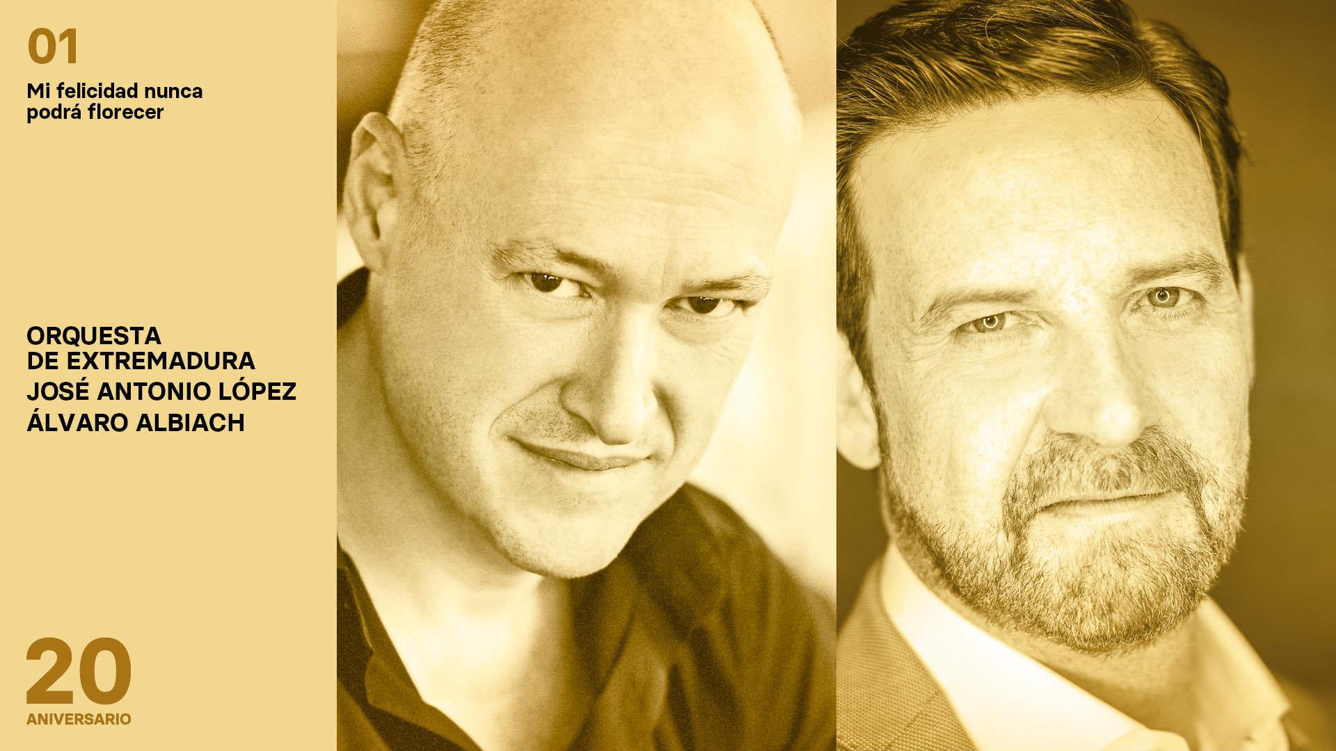Álvaro Albiach y José Antonio López nos hablan del primer concierto de la temporada de la OEX: Mahler